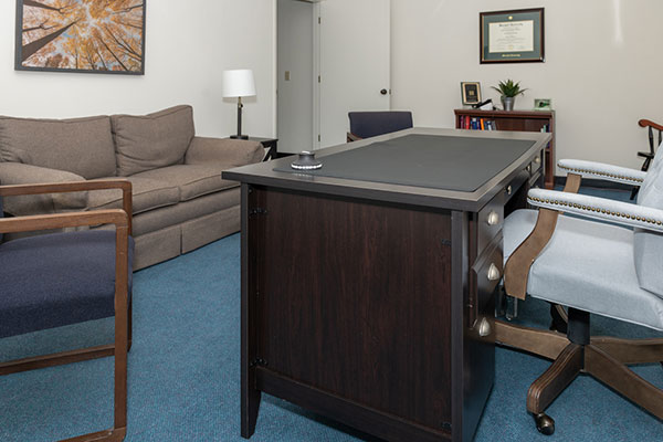 Comfortable Therapy Room
